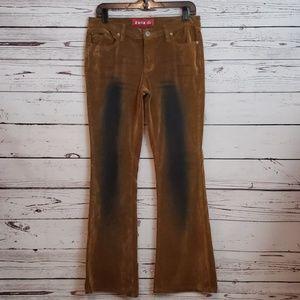 Y2K Zana Di Velvet Burnout Festival Jeans 9